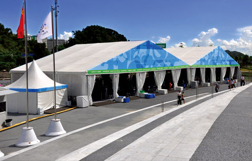 waterproof international sports tents in Guangzhou